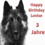 Lovise 3. Geburtstag